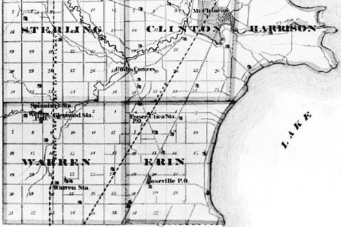 1875 Macomb County Map