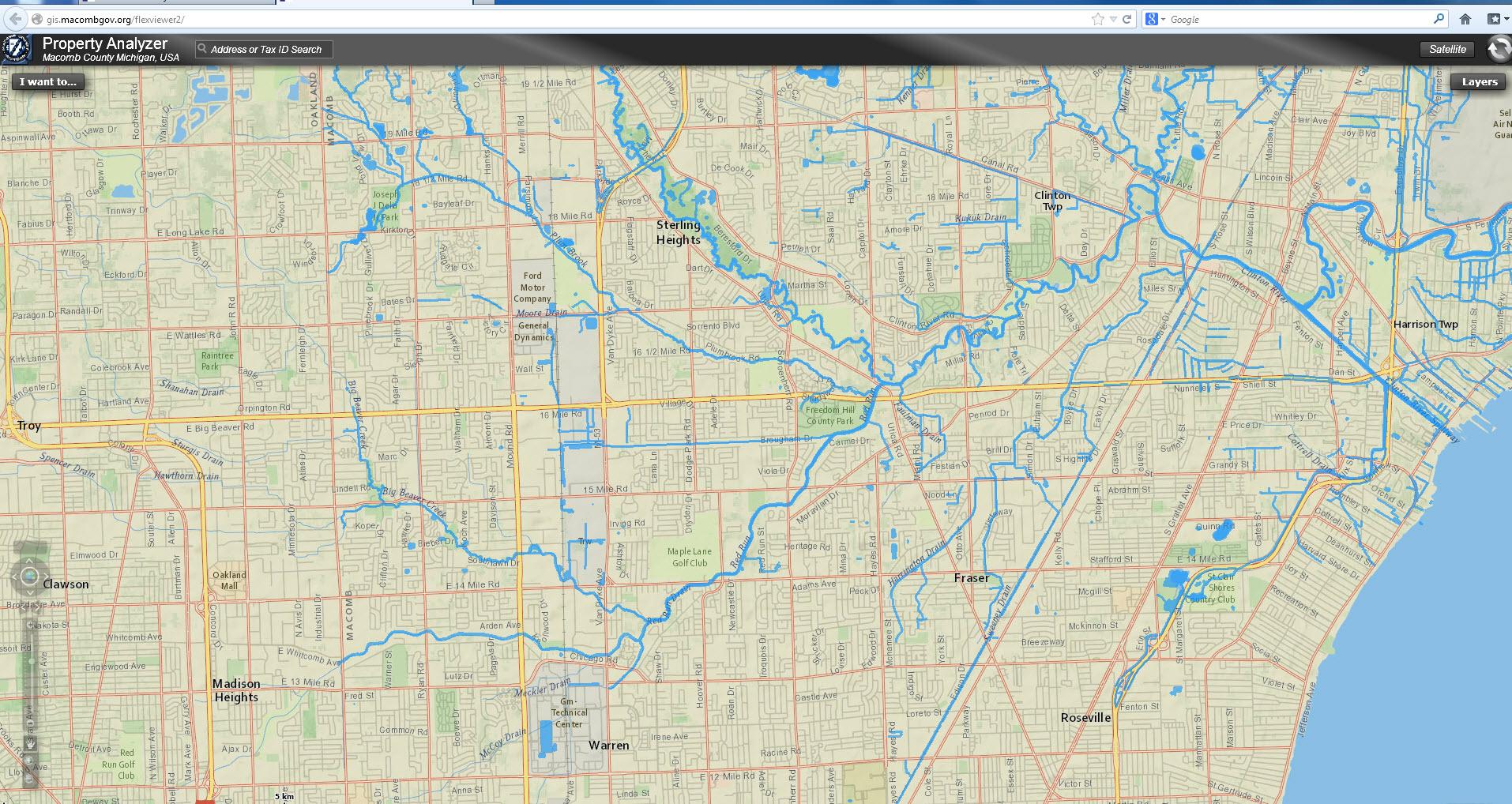 Maps of Red Run | Red Run