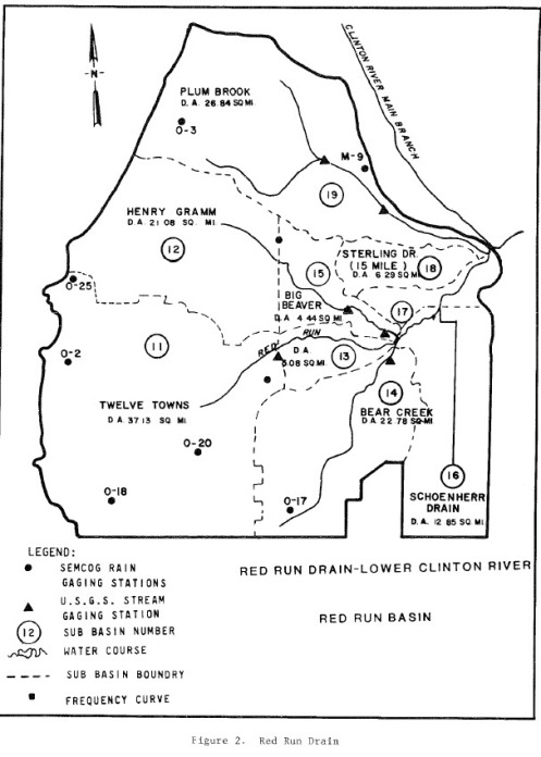 Red Run USACE Map