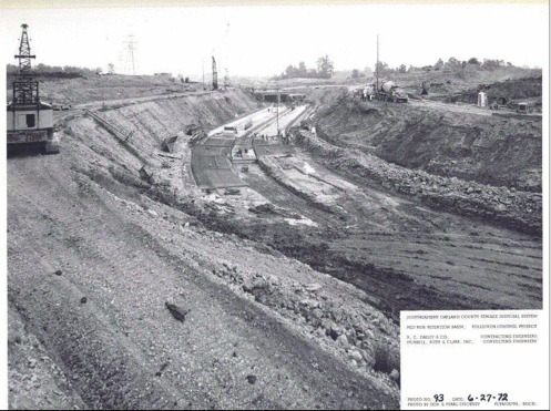 Red Run excavation construction