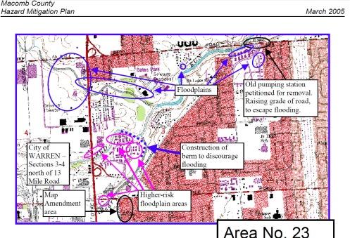 Red Run Van Dyke Hazard Plan