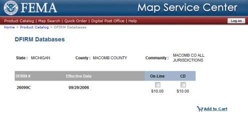 FEMA flood mapping