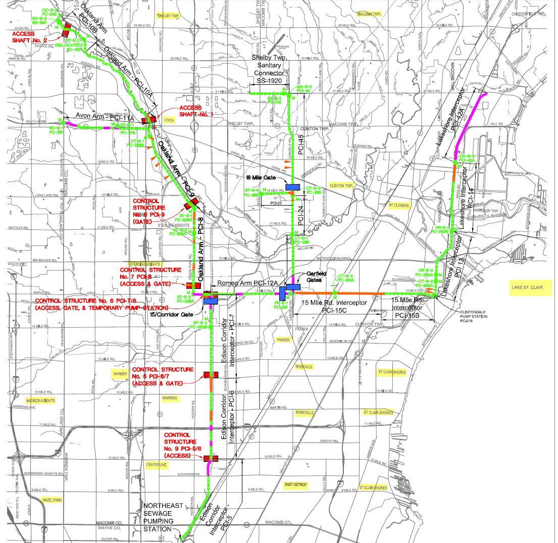 Macomb Interceptor Drainage District Rico Case