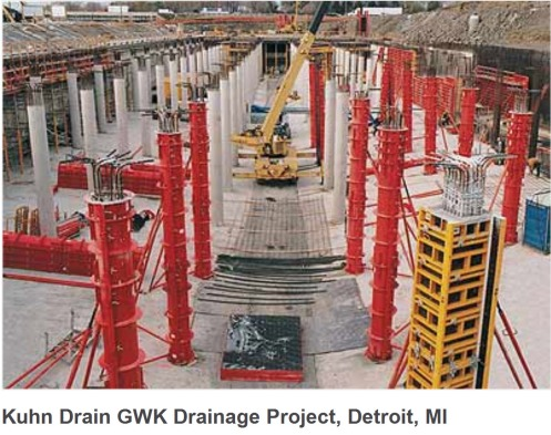 Red Run Kuhn Drain GWK Drainage Project  2