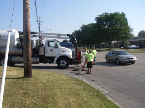 Ryan Road Sewer Jetting