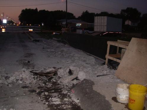Removal Concrete Railing 2