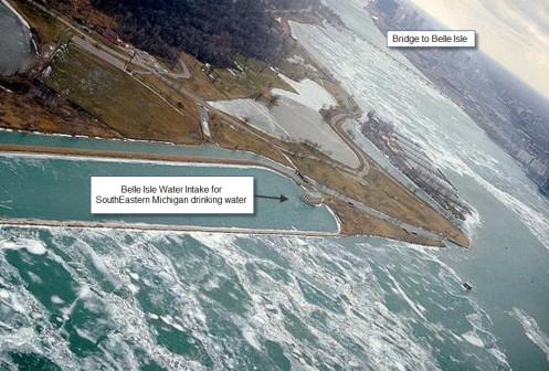 Belle Isle Water Intake