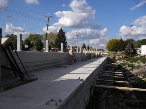 Pedestrian walkway project