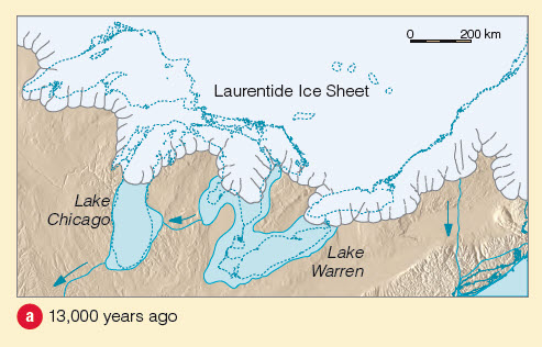 Lake Warren Laurentide Ice Sheet