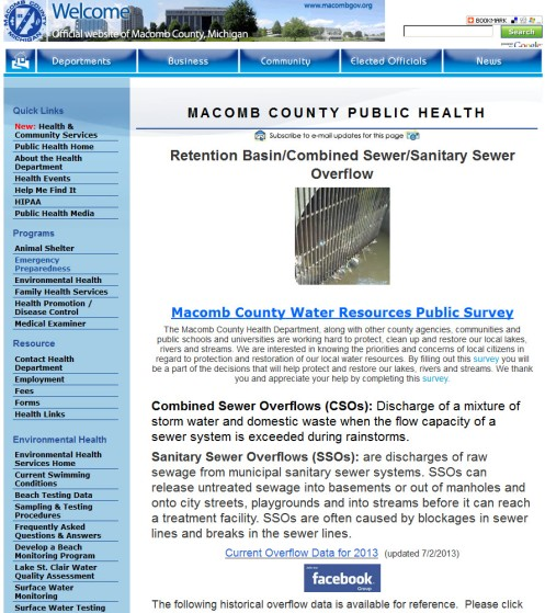 Macomb County Public Health