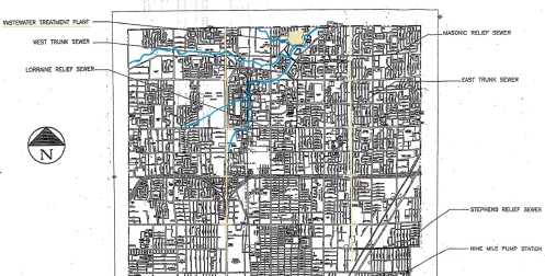 Warren Michigan Sewer System