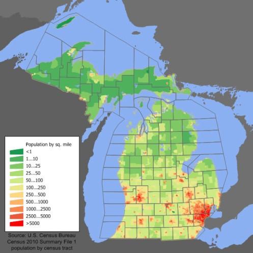 Detroit Windsor population