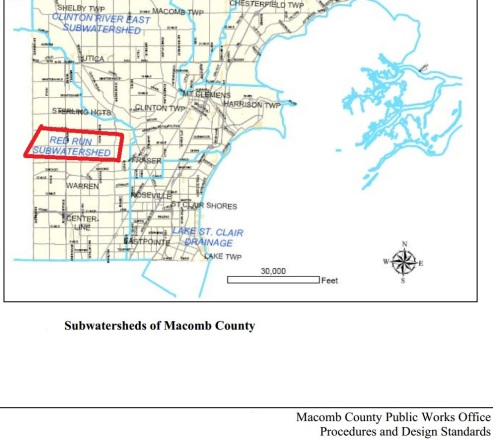 Watersheds Macomb County