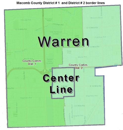 District 1 Macomb County Michigan