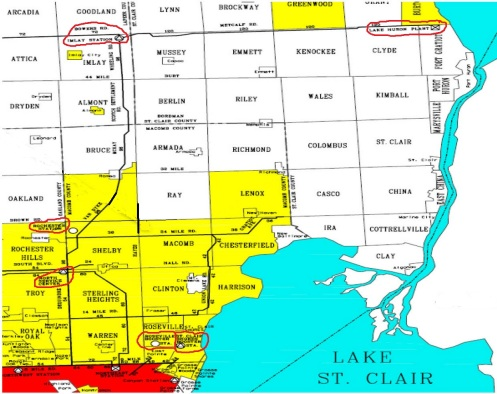 Macomb Oakland Water System