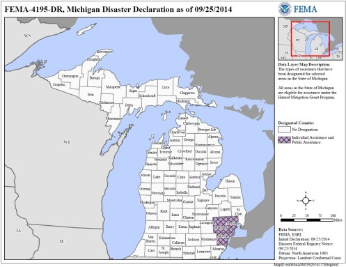FEMA Michigan September25 2014
