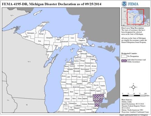FEMA Michigan September25 2014