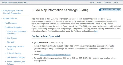 FMIX Info Exchange FEMA