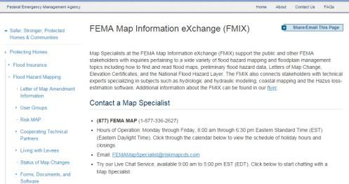 FMIX Info Exchange FEMA
