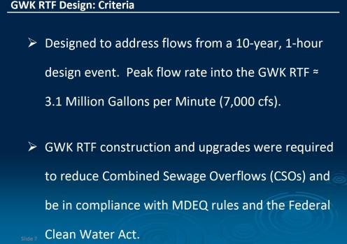 GWK design criteria