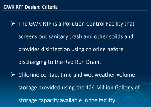 GWK retention basin design criteria
