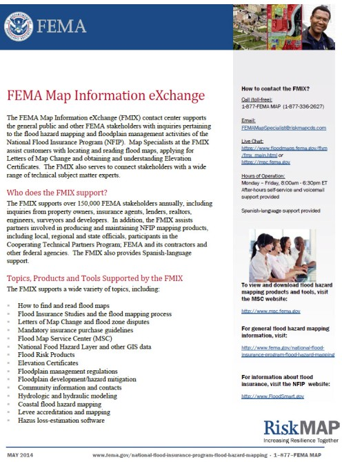 FMIX map information exchange