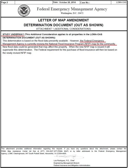 fema map amendment letter 2014