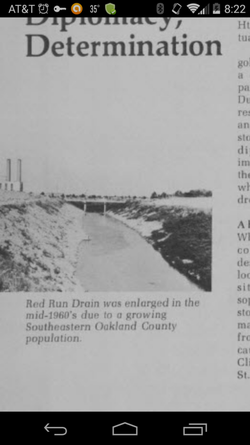 Old Red Run from 1960's