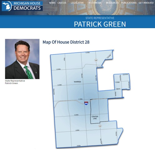 Patrick Green Michigan Democrat