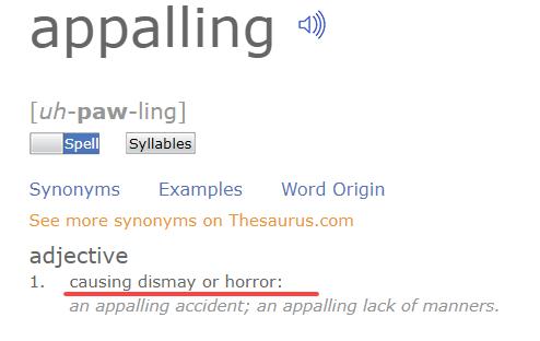 Appaling